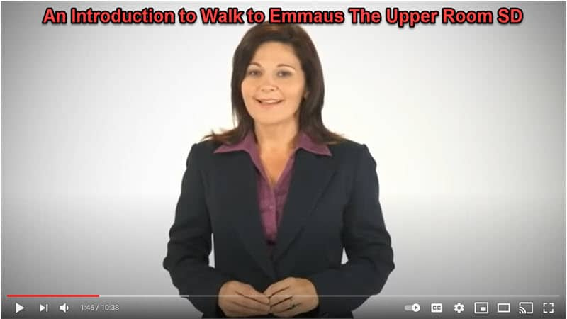 An Introduction to Walk to Emmaus The Upper Room YouTube Video